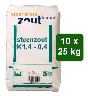 Steenzout K1.4-0.4 10x25kg