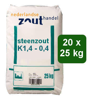 Steenzout K1.4-0.4 20x25kg