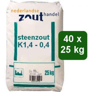 Steenzout K1.4-0.4 40x25kg