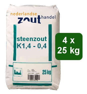 Steenzout K1.4-0.4 4x25kg
