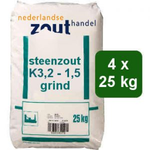Steenzout K3.2-1.5 grind 4x25kg