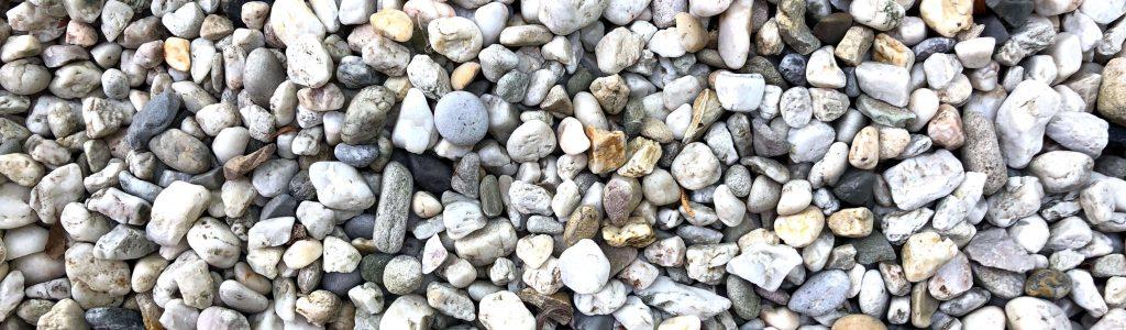 schoon grind met steenzout